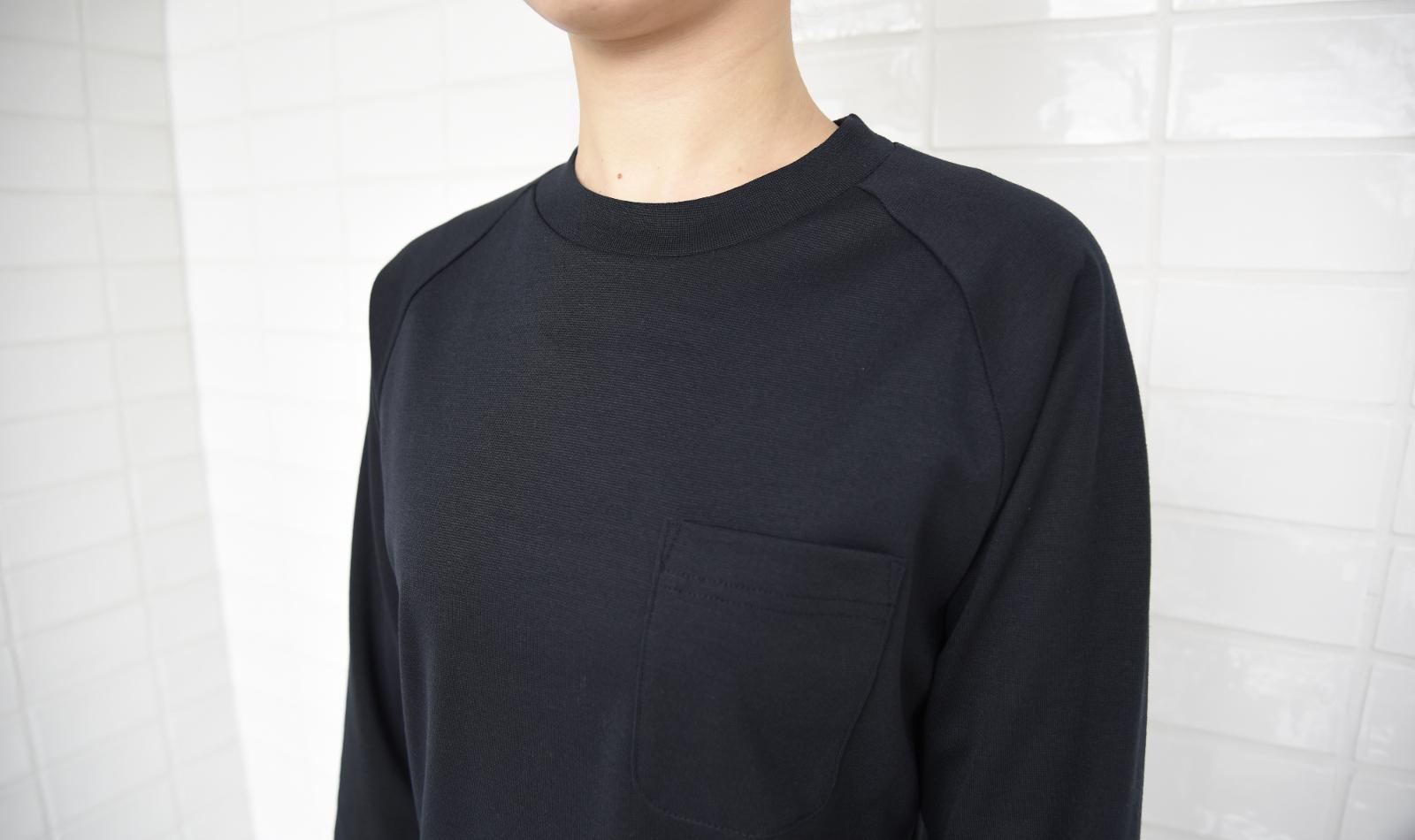 7分袖ラグランニットシャツ CU2355