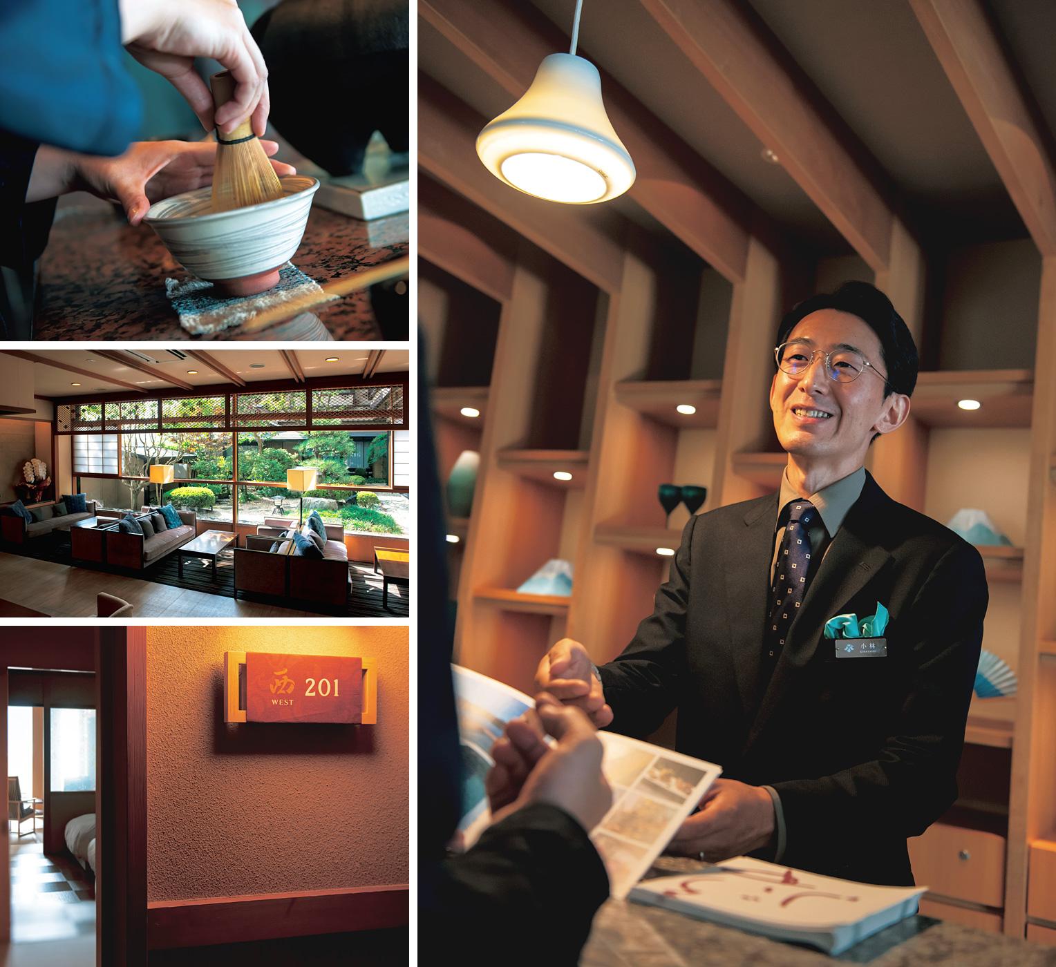 旅館「富士河口湖温泉郷 うぶや」