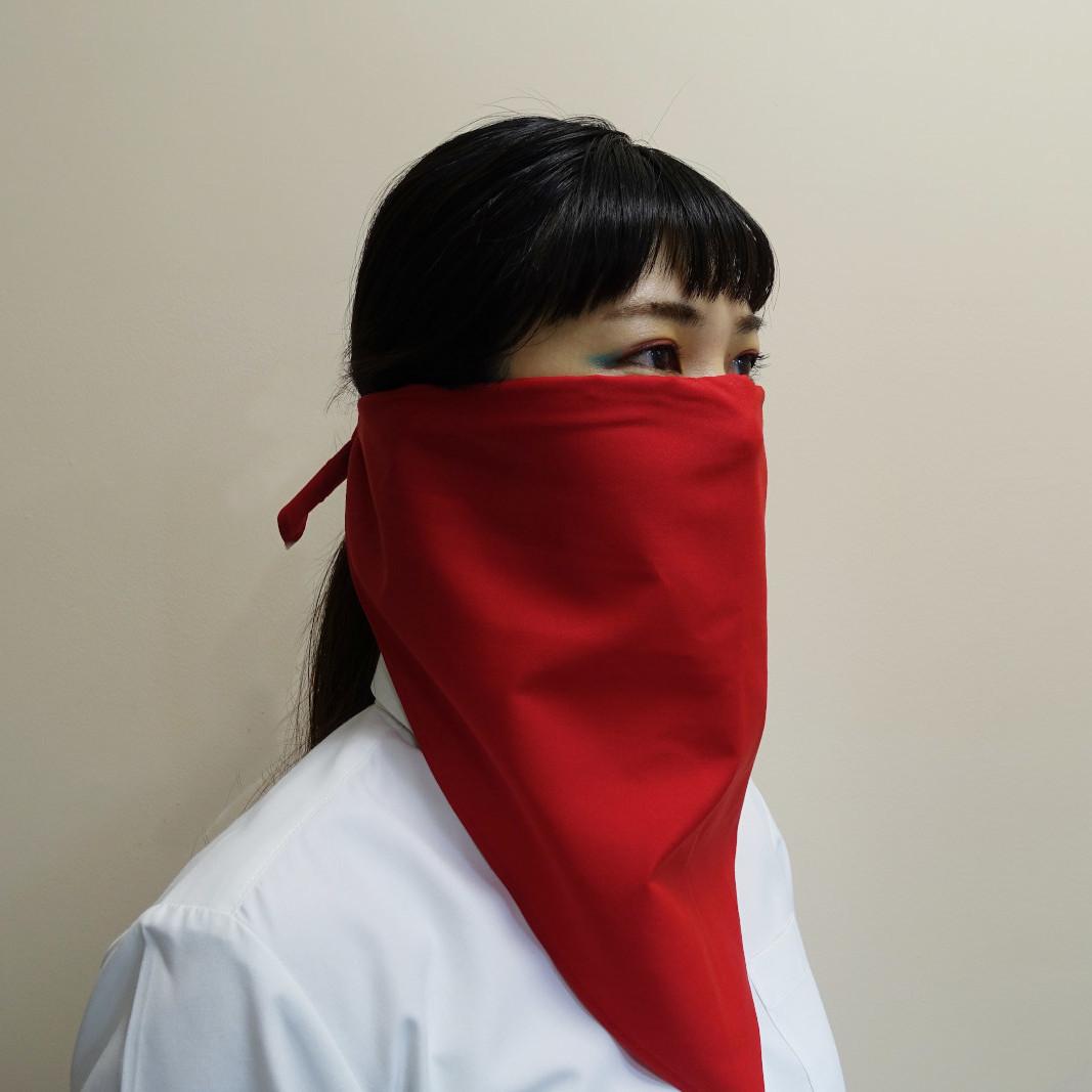 三角巾マスク