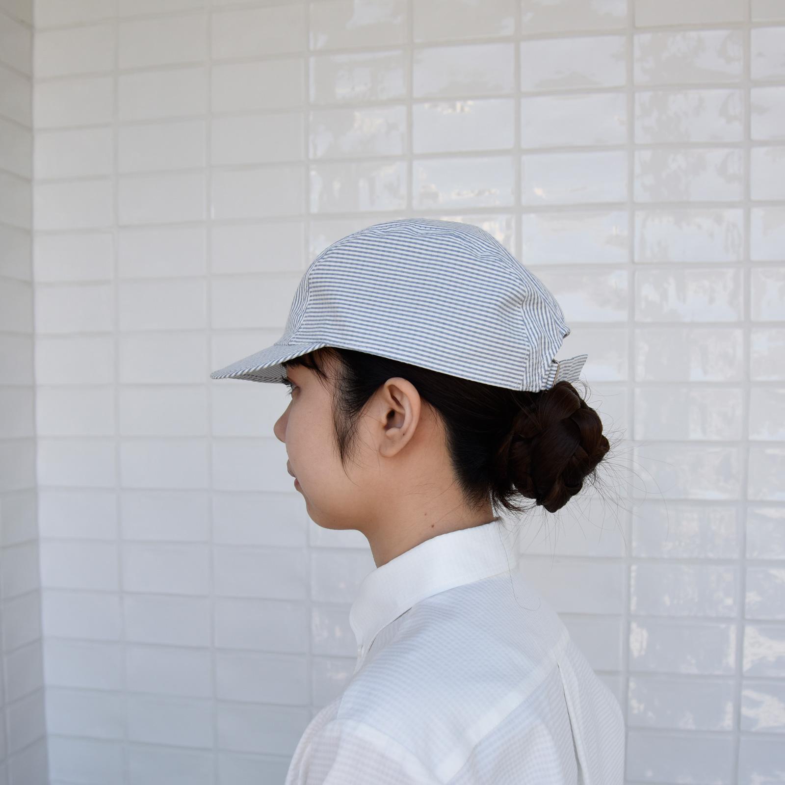 シアサッカー 帽子
