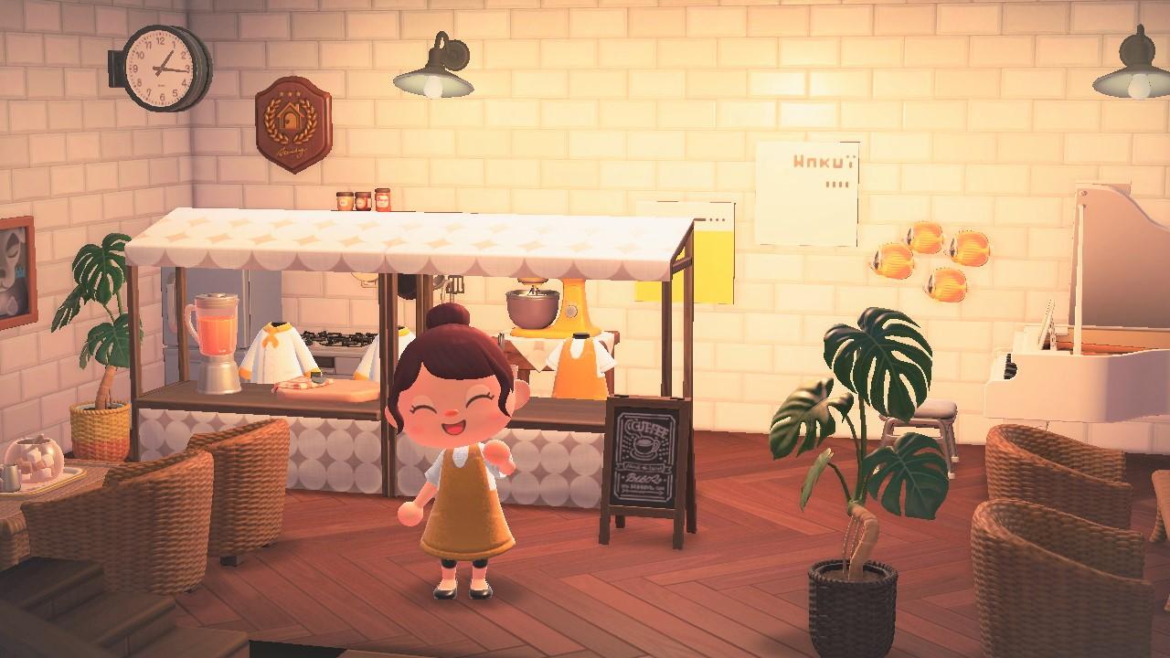 あつ森 カフェ
