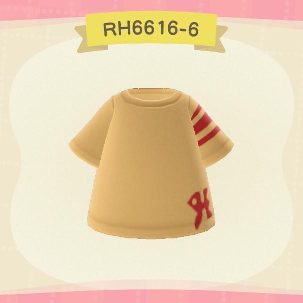 あつまれどうぶつの森 ニットシャツ